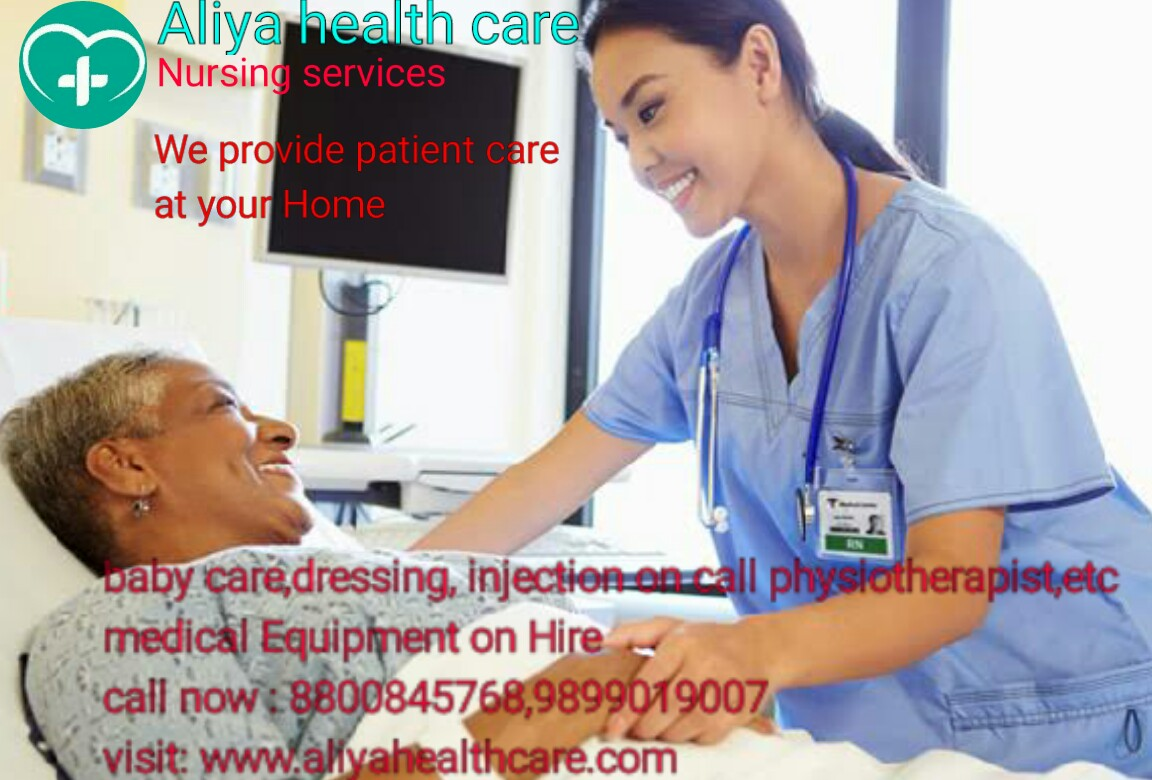 nursing care services at home in Laxmi Nagar