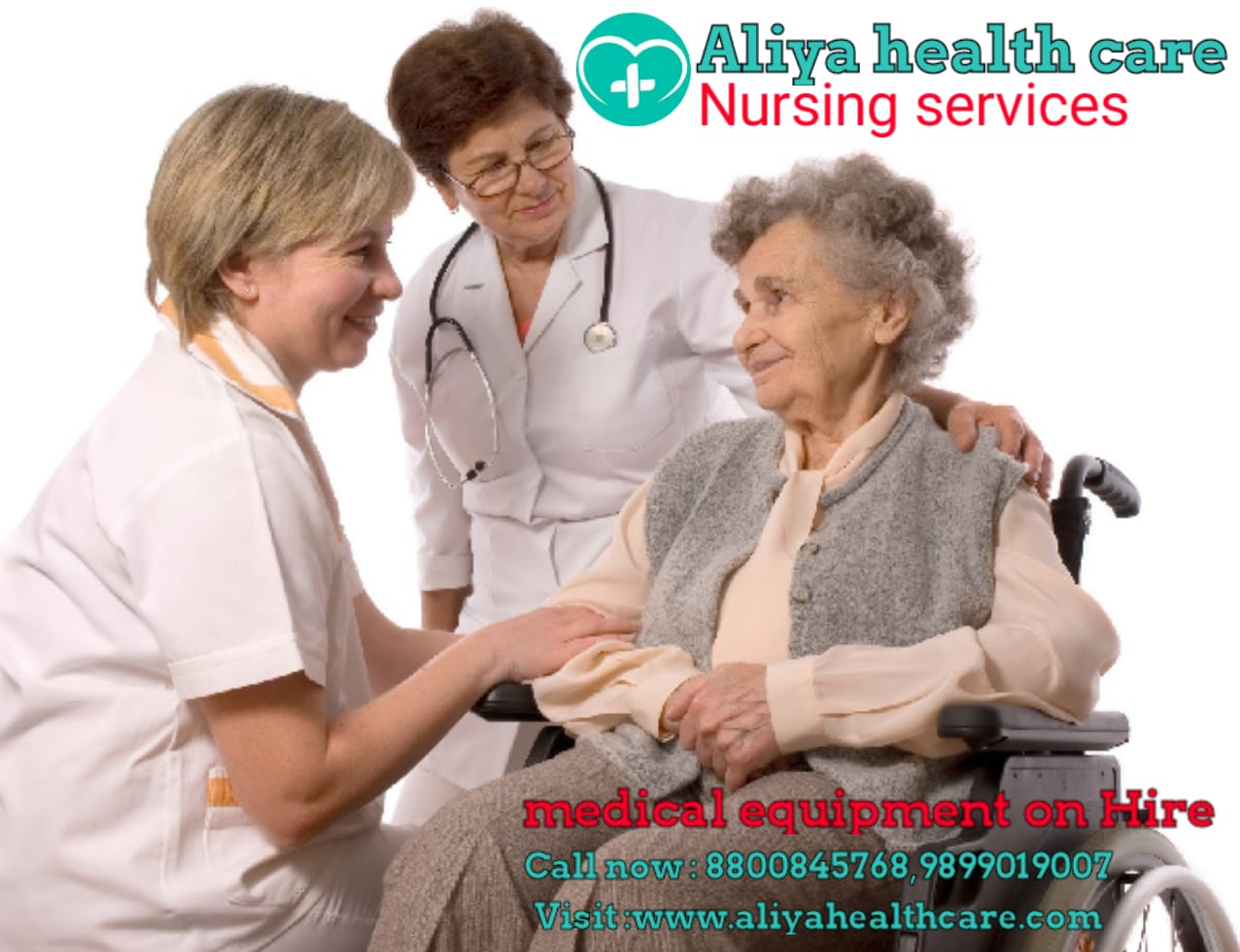 Nursing Care Service at home visit in SAHADRA