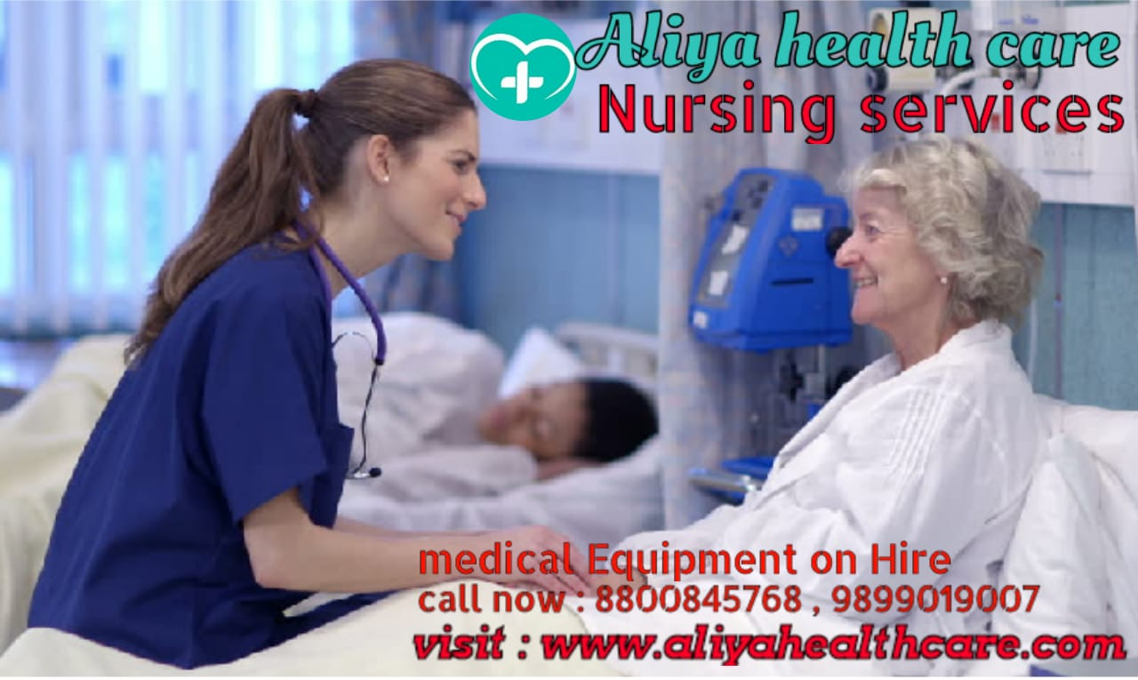 nursing care services at home in Vivek Vihar