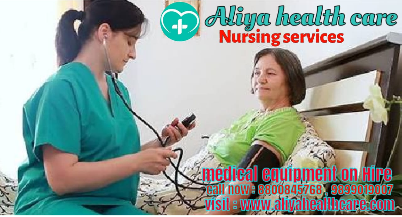 Nursing Care Service at home visit in Nirman vihar